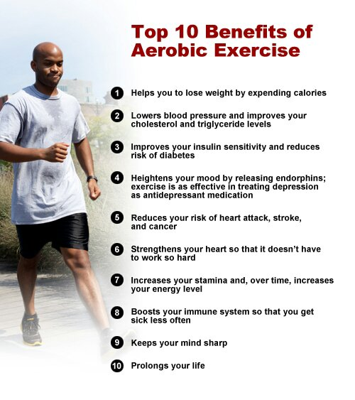 Top 10 Benefits of Aerobic Exercise | Ruthless Physique